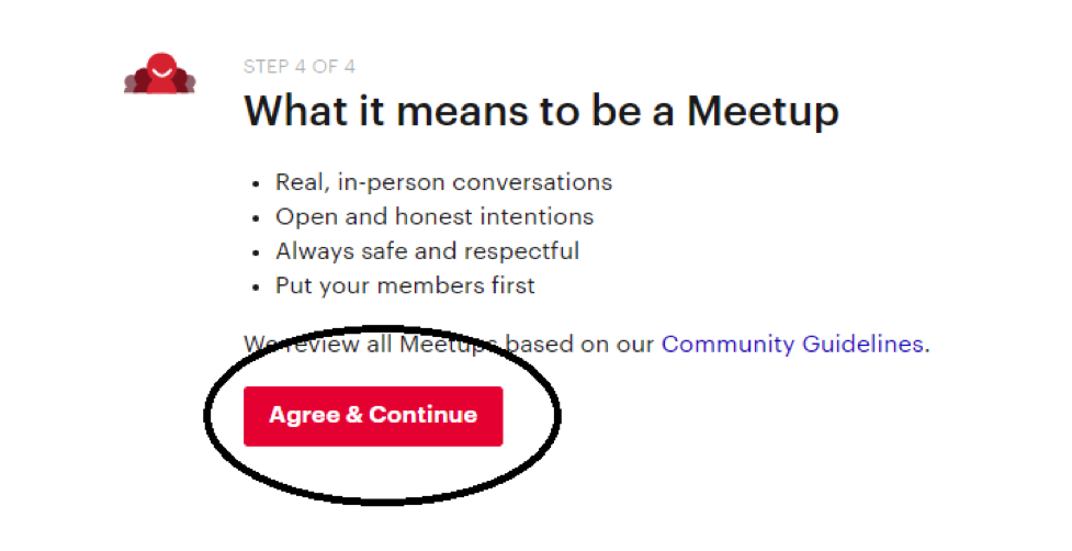 how to set up a meetup group 4