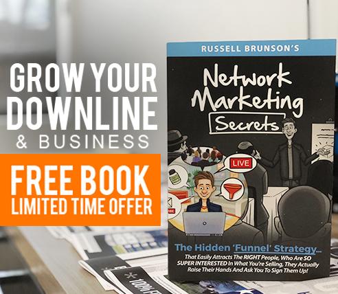Network Marketing Secrets -- eBook Funnel